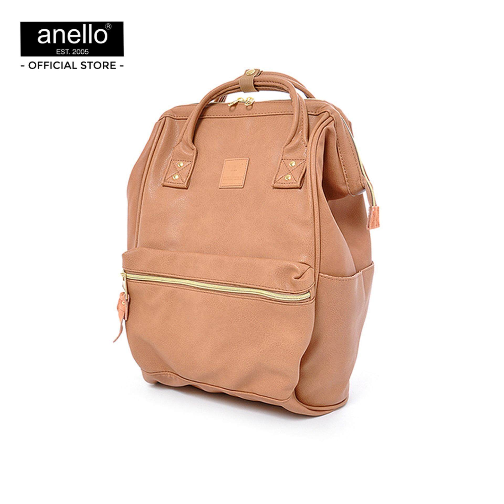 ยี่ห้อนี้ดีไหม  นนทบุรี anello กระเป๋า เป้ REG PU Backpack_AT-B1211