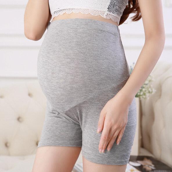 Sanay Bra (N261) กางเกงขาสั้นคนท้อง เอวสูง พยุงครรภ์ มีสายปรับระดับที่เอว