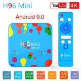 ยี่ห้อไหนดี  นครสวรรค์ H96 Mini TV BOX 4GB+128GB Android 9.0 Smart Set Top Allwinner H6 Quad Core 6K H.265 Wifi HD Google Player Youtube
