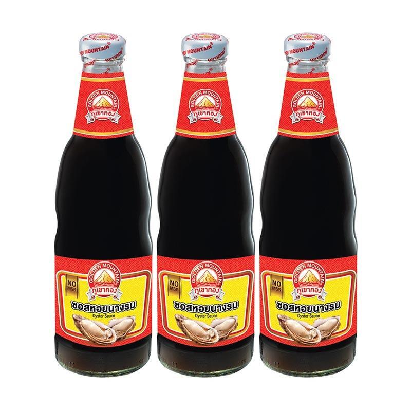 Big Sale! [3 Pcs.] Mountain Oyster Sauce 660 g x 3 bottles | Lazada.co.th