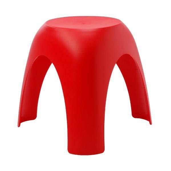 เช่าเก้าอี้ กรุงเทพ เก้าอี้พลาสติก รุ่น ว้าว - สีแดง