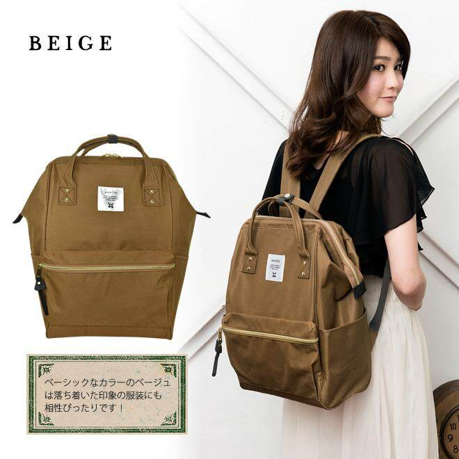 เพชรบูรณ์ Anello Canvas Beige (Standard) SIZE M สินค้าแท้จากญี่ปุ่น