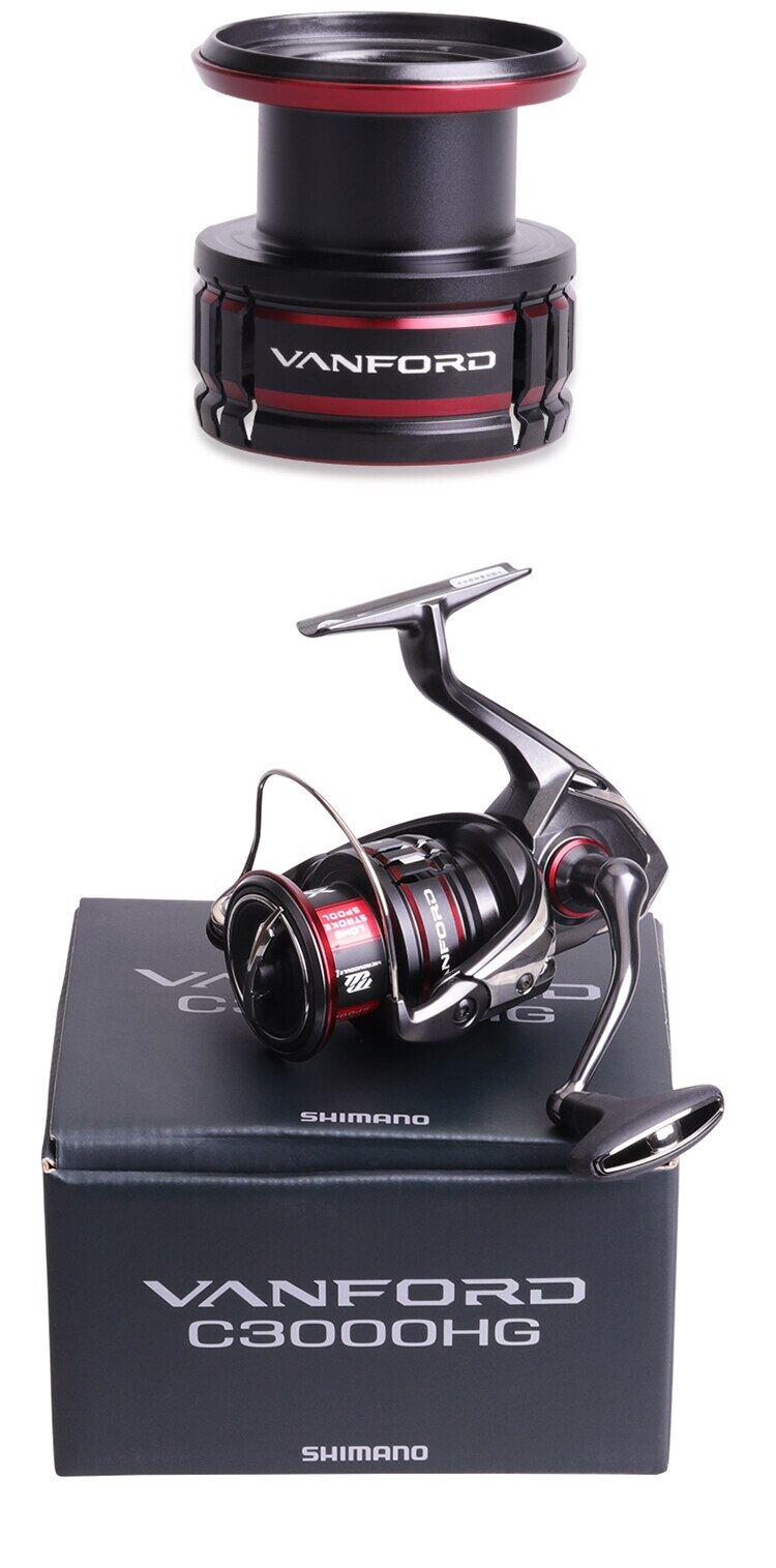 2020 NEW Original Shimano VANFORD Spinning Fishing Reel 2500 C3000 Fishing Whell