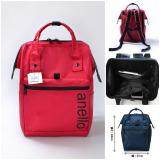 การใช้งาน  ยะลา Anello Water Repellent Regular Backpack-Lavender (Red Color)