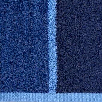 BEHOME ผ้าเช็ดตัว รุ่น Stripes 30\x60\ (สีน้ำเงิน)