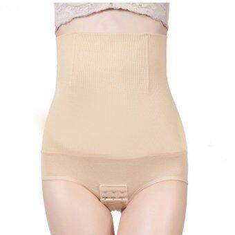 BENITA -กางเกงในเก็บพุง เก็บหน้าท้อง หลังคลอด มีตะข้อที่เป้า สีครีม