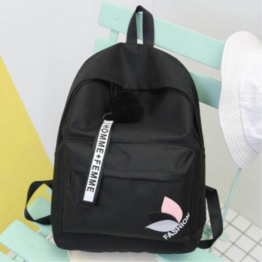 กระเป๋าเป้ นักเรียน ผู้หญิง วัยรุ่น เพชรบุรี Haskins กระเป๋าเป้ กระเป๋าสะพายหลัง ผ้าหนา กันน้ำได้ backpack women