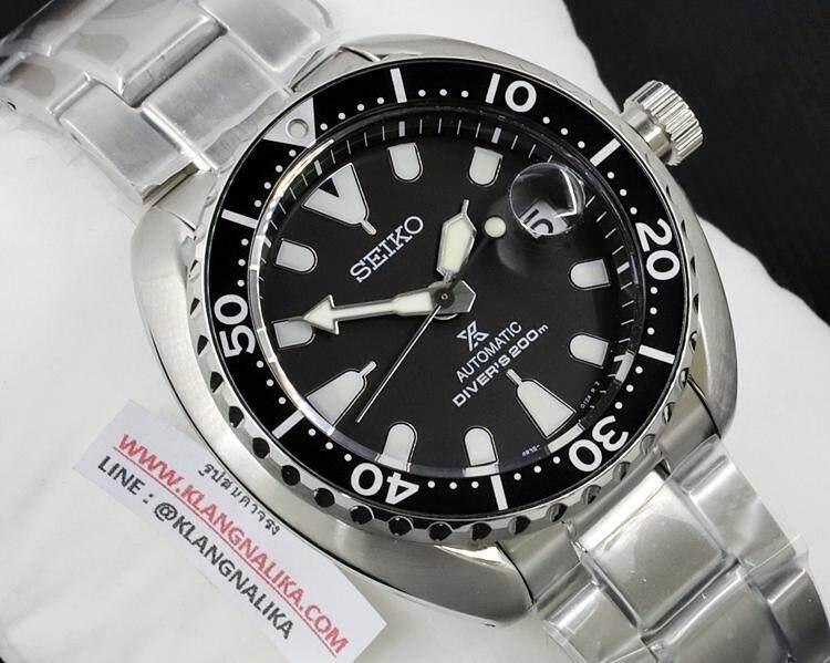ฉะเชิงเทรา นาฬิกา Seiko Prospex Mini Turtle Diver s 200M รุ่น SRPC35K1 (ประกันศูนย์ seiko ประเทศไทย)