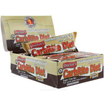 BP MUSCLE - CarbRite Diet Bar Cookie Dough 12 Bars Energy Protein Bar ขนม เอเนอร์จี้ โปรตีนบาร์ รสคุ๊กกี้ดอร์จ