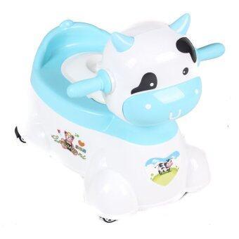 Brightbaby กระโถนเด็กหน้าวัว (สีฟ้า)