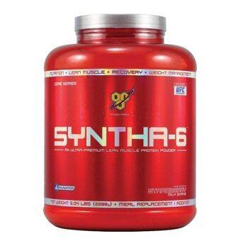 BSN SYNTHA-6 CHOCOLATE FLAVOUR ซินต้า-6ช็อกโกแลต 5lb 1 กระปุก