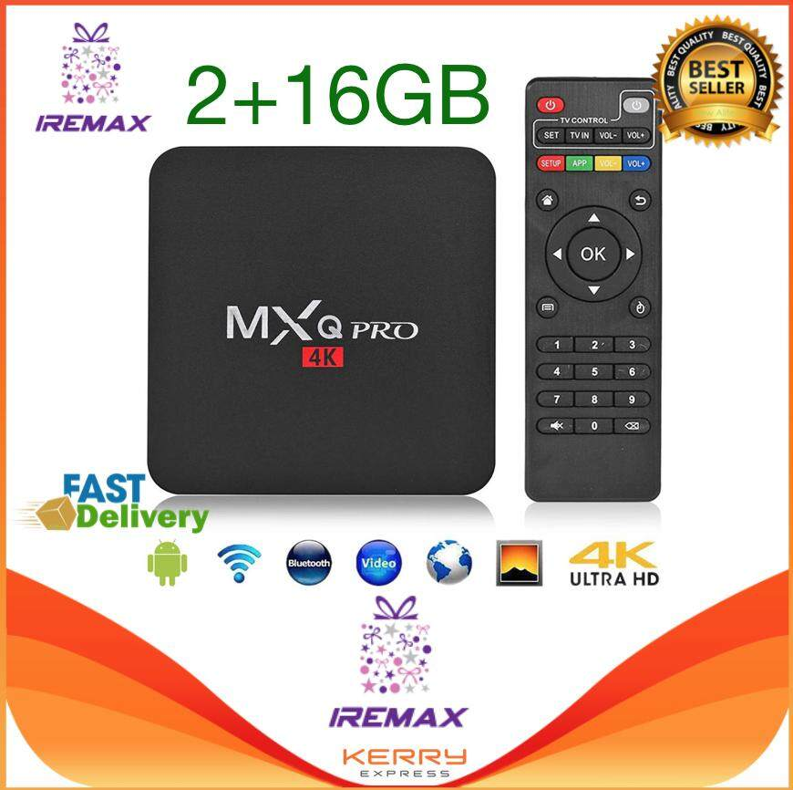 สอนใช้งาน  อำนาจเจริญ iRemax Hot 2019 MXQ PRO Quad Core Android 7.1 Smart TV Box 2+16GB HDMI WIFI 4K Media Streamer