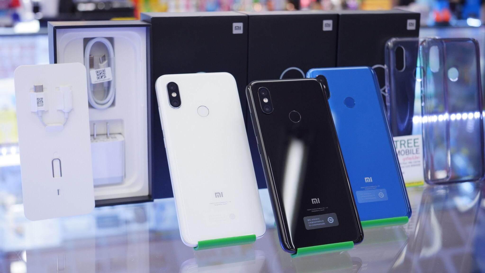 ยี่ห้อไหนดี  เลย Xiaomi Mi 8 /ร้าน TreeMobile TreeMobileMbk
