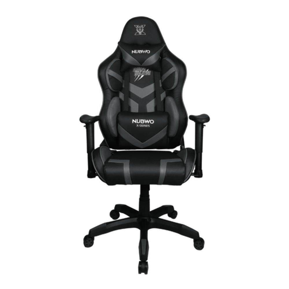 GAMING CHAIR (เก้าอี้เกมมิ่ง) NUBWO X SERIES NBCH X105 (BLACK/GRAY) gaming chair video game chair best gaming chair x rocker gaming chair pc gaming chair rocker gaming chair gaming seat gaming chair with speakers computer gaming chair cheap