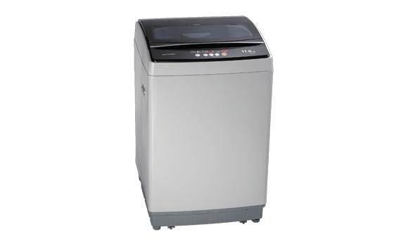 SHARP เครื่องซักผ้าฝาบน 11 KG. รุ่น ES-W119T-SL