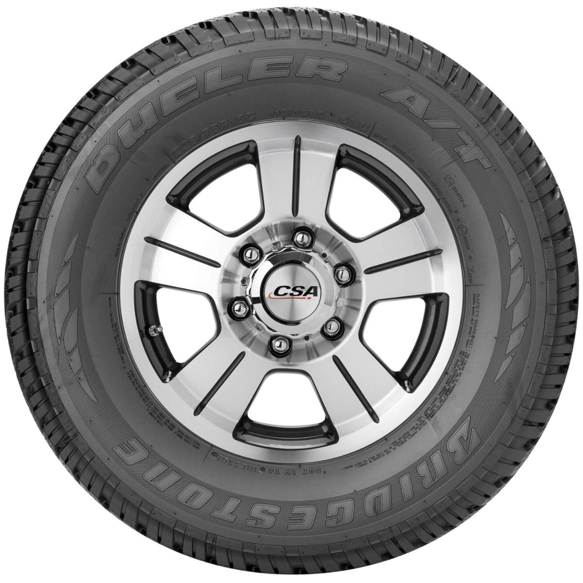 สุพรรณบุรี Bridgestone ยางรถยนต์ 245/70R16 รุ่น DUELER A/T 693III จำนวน 4 เส้น (ยางปี2019)