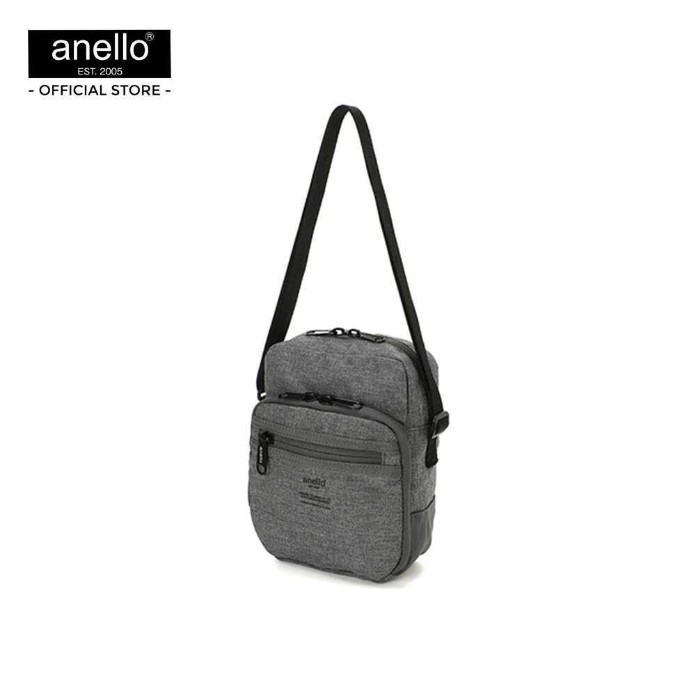 สอนใช้งาน  ชุมพร กระเป๋า anello  VHP multi-function shoulder bag_AT-B2801-GY