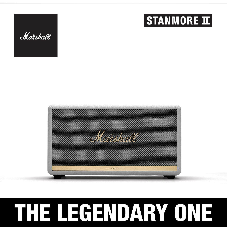 การใช้งาน  ระยอง ลำโพงบลูทูธ Marshall Stanmore II White - Marshall Stanmore II bluetooth speaker White