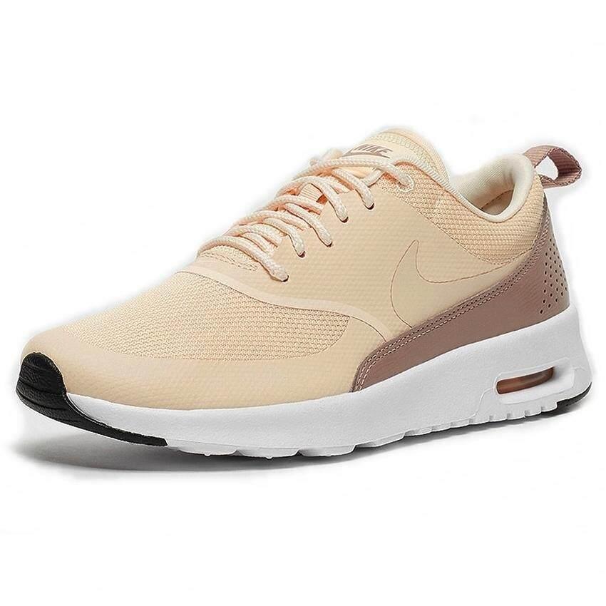 ยี่ห้อนี้ดีไหม  สระบุรี Nike  รองเท้าแฟชั่นผู้หญิง Women s Nike Air Max Thea 599409-804 (Guava Ice/Diffused Taupe/Black)  สินค้าลิขสิทธิ์แท้