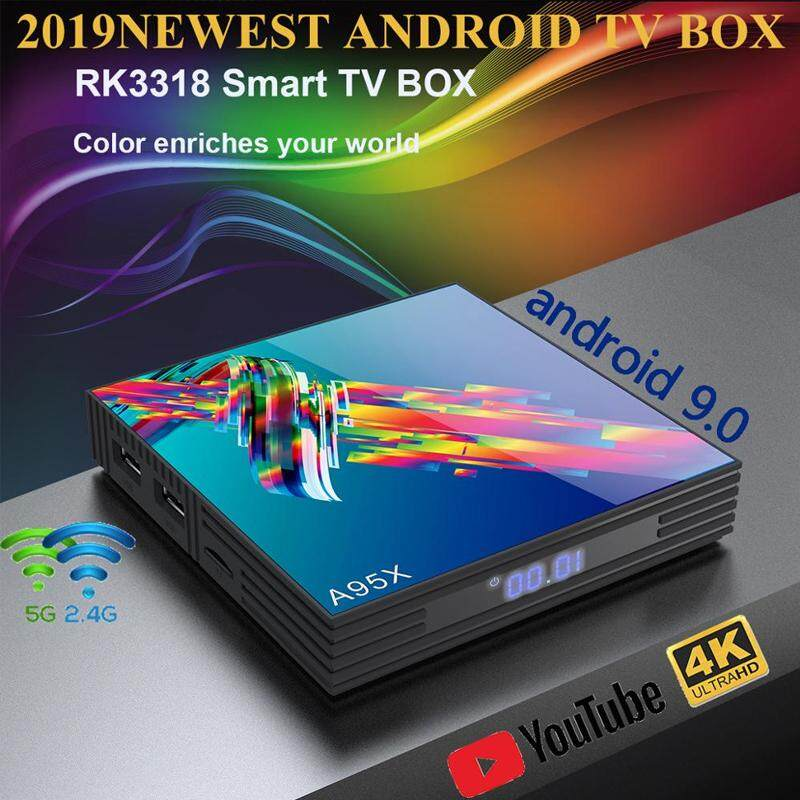 สอนใช้งาน  นครศรีธรรมราช A95X R3 RK3318 9 0 Android TV Box 4GB RAM 64GB 32GB 4K 2 4G/5G WiFi USB3.0 Google Netflix Youtube reproductor multimedia Set Top Box