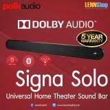 ยี่ห้อนี้ดีไหม  ลำพูน Polk Audio Signa Solo - Universal Home Theater Sound Bar รับประกัน 5ปี ศูนย์ POWER BUY จากผู้นำเข้าอย่างเป็นทางการ