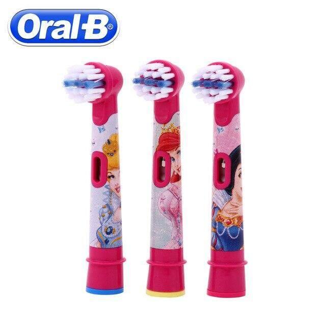 แปรงสีฟันไฟฟ้า ทำความสะอาดทุกซี่ฟันอย่างหมดจด นครปฐม OralB Electric Childrens Brush Head kids brush Head SH Store