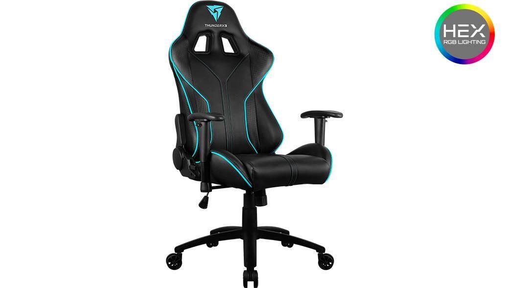 ยี่ห้อไหนดี  ThunderX3 RC3 HEX RGB Lighting Gaming Chair - มีไฟ RGB Lighting
