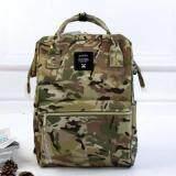การใช้งาน  นครราชสีมา Anello Regular Backpack ลายทหาร
