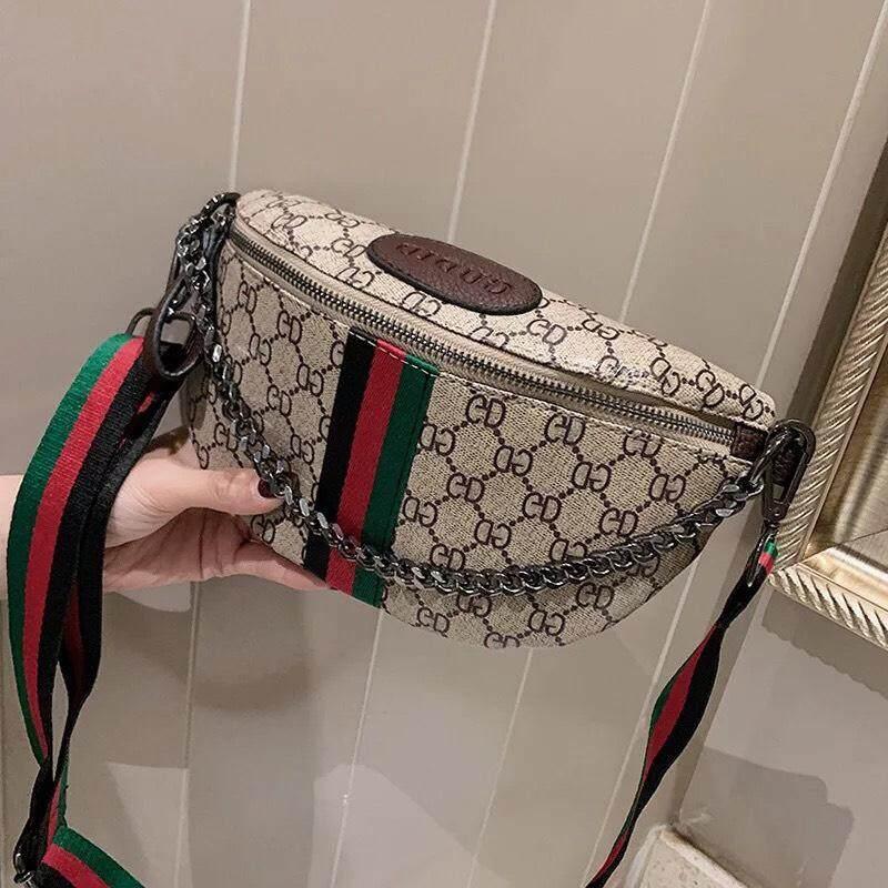 กระเป๋าถือ นักเรียน ผู้หญิง วัยรุ่น ตรัง กระเป๋าคาด อก คาดเอว สุดฮิต 501