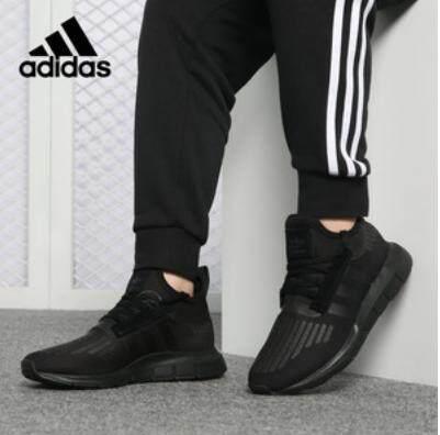ขายดีมาก! ลิขสิทธิ์แท้ 100% รองเท้าผ้าใบอดิดาส ผู้ชาย Adidas Swift Run Triple Black รุ่นยอดนิยมสุดเท่ ของแท้100% ส่งไวด้วย kerry!!!
