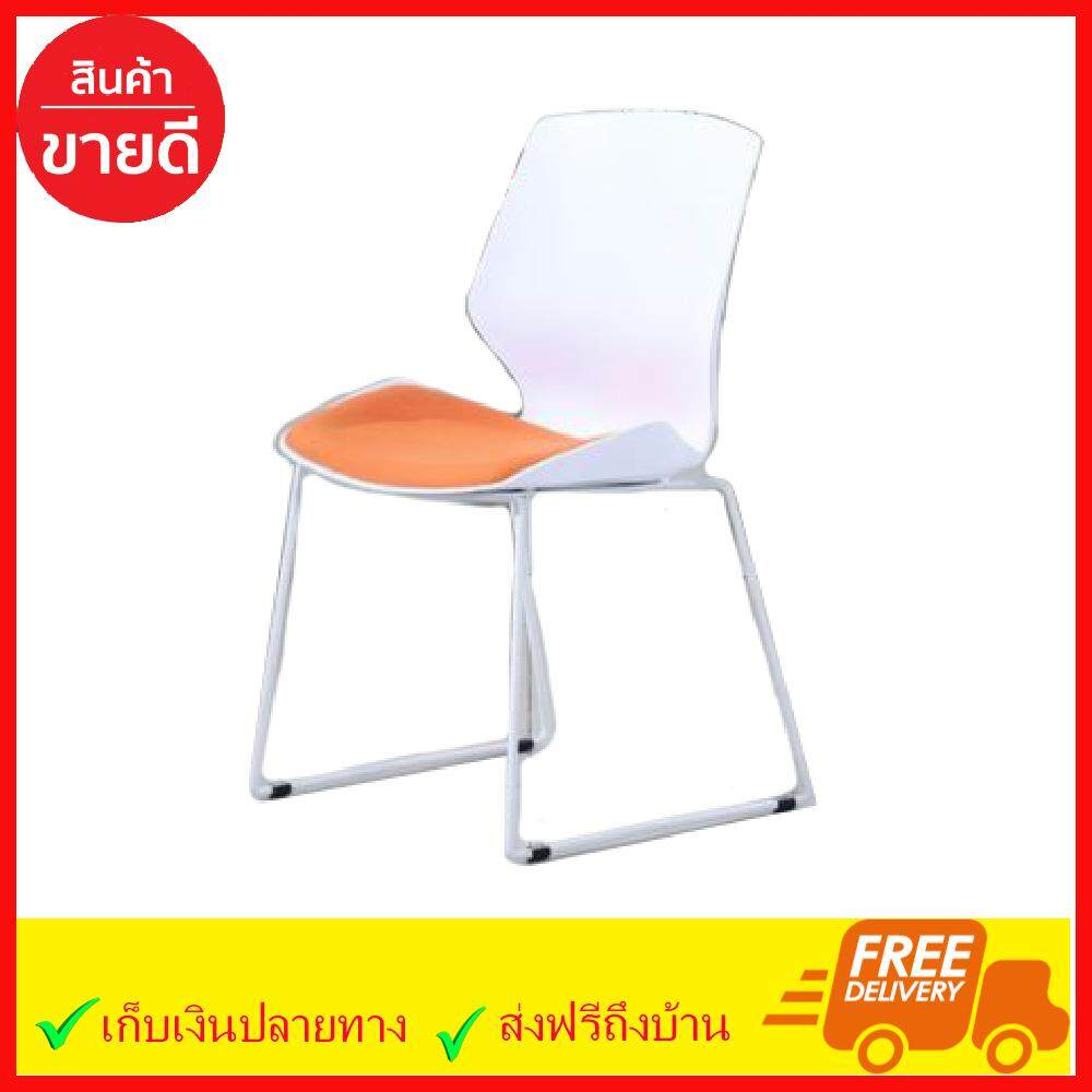 ยี่ห้อนี้ดีไหม  ชุมพร เก้าอี้กินข้าว เบาะผ้า ขาเหล็กเคลือบผงสี เก้าอี้พลาสติก เก้าอี้ออกบูธ เก้าอี้ Dining Chair 601 สินค้าคุณภาพดี ของแท้ 100% ส่งฟรี