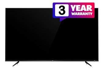 TCL 4K สมาร์ททีวี 43 นิ้ว ประกัน 3 ปี รุ่น 43P6US [ผ่อนชำระอัตราดอกเบี้ยพิเศษ สูงสุด 10 เดือน]