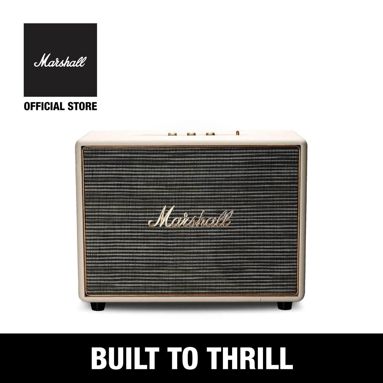 ยี่ห้อนี้ดีไหม  กระบี่ ลำโพงบลูทูธ Marshall Woburn - Marshall Woburn bluetooth speaker