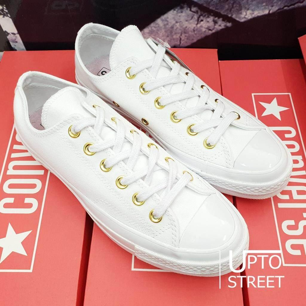 ยี่ห้อนี้ดีไหม  เชียงราย Converse รองเท้า Chuck Taylor All Star 70 [160525C] White/White/Cherry Blossom