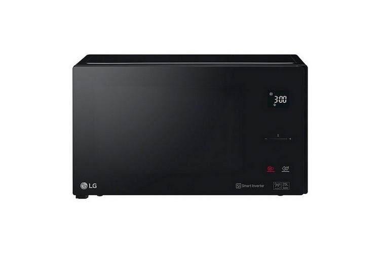 รุ่นใหม่ล่าสุด อุ่นอาหารร้อนเร็ว ประหยัดไฟ ฟังก์ชันพร้อม ใช้งานสะดวก Microwave ไมโครเวฟ ดิจิตอล LG MS2595DIS.BBKPETH 25L LG MS2595DIS.BBKPETH