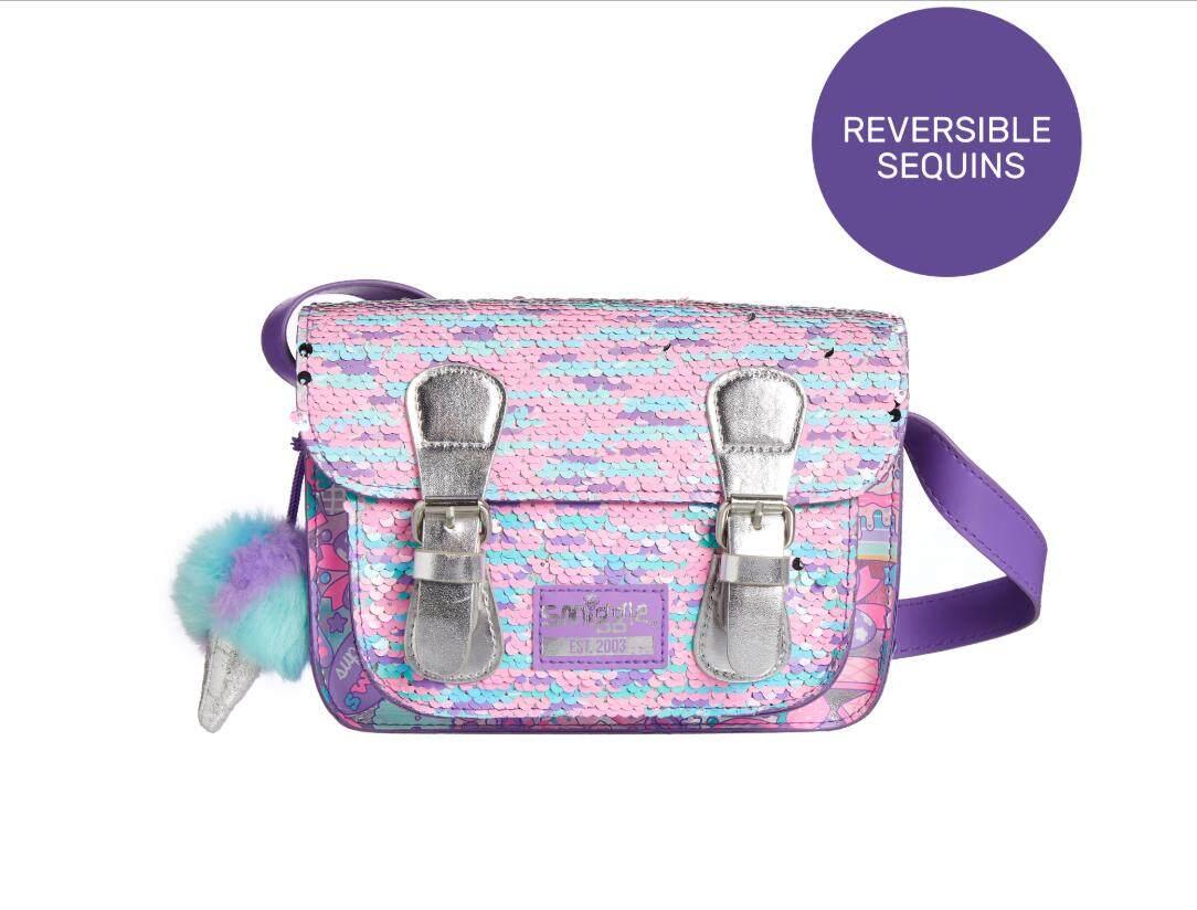 กระเป๋าสะพายพาดลำตัว นักเรียน ผู้หญิง วัยรุ่น นนทบุรี Smiggle  Mimi Shoulder Bag กระเป๋าสะพายข้างสมิกเกอ รุ่นใหม่ล่าสุด ของแท้
