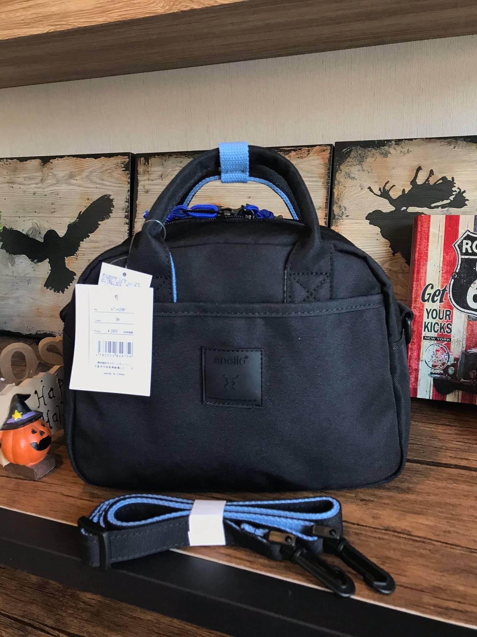 แม่ฮ่องสอน Anello 2Way mini boston Bag คอลเลคชั่นสีทูโทนสดใสต้อนรับลมร้อน กับกระเป๋าถือหรือสะพายข้าง