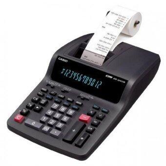 Casio เครื่องคิดเลข ตั้งโต๊ะ แบบปริ้นท์ รุ่น DR-120TM-BK (Black)