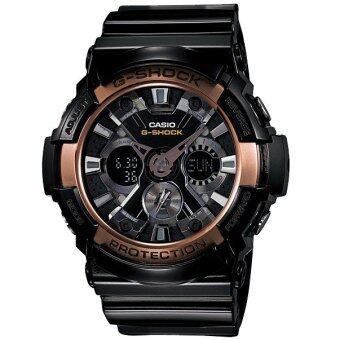Casio G-shock นาฬิกาข้อมือ รุ่น GA-200RG-1ADR - สีดำ