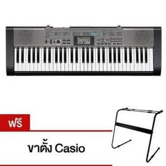 Casio คีย์บอร์ด61คีย์ อแดปเตอร์ รุ่น CTK -1300 (61) (...)