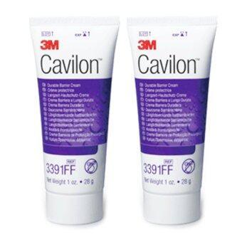 3M Cavilon Durable Barrier Cream FF คาวิลอน ครีมชนิดเข้มข้น ทาแผลกดทับ 28 กรัม 2 หลอด