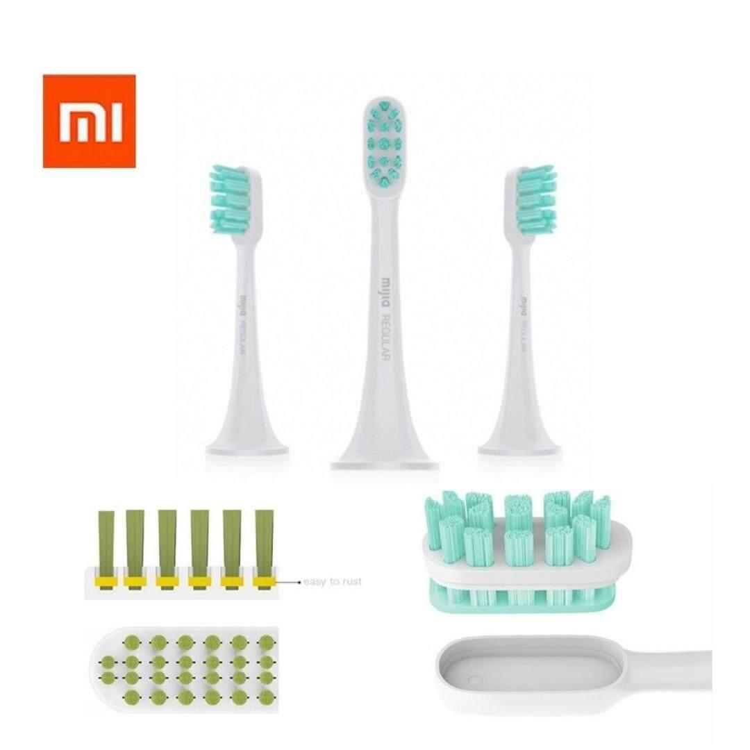 แปรงสีฟันไฟฟ้าเพื่อรอยยิ้มขาวสดใส ประจวบคีรีขันธ์ หัวแปรงสีฟันไฟฟ้า Xiaomi Mi Electric Toothbrush Head 3 pack regular หัวแปรงสีฟัน ไฟฟ้า อัจฉริยะ