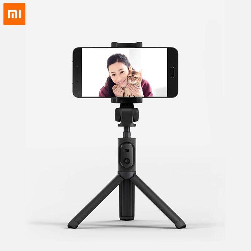 ยี่ห้อนี้ดีไหม  ร้อยเอ็ด ไม้เซลฟี่ใช้ได้กับมือถือทุกรุ่น รีโมตควบคุมการถ่ายภาพด้วยการเชื่อมต่อบลูทูธ- Xiomi Mi Foldable Tripod Bluetooth Selfie Stick Camera Holder With Wireless Remote Control For Smartphone
