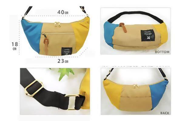 อุบลราชธานี Anello AT-B0192 Banana Mini Shoulder Bag from Japan  สินค้าแท้จากญี่ปุ่น