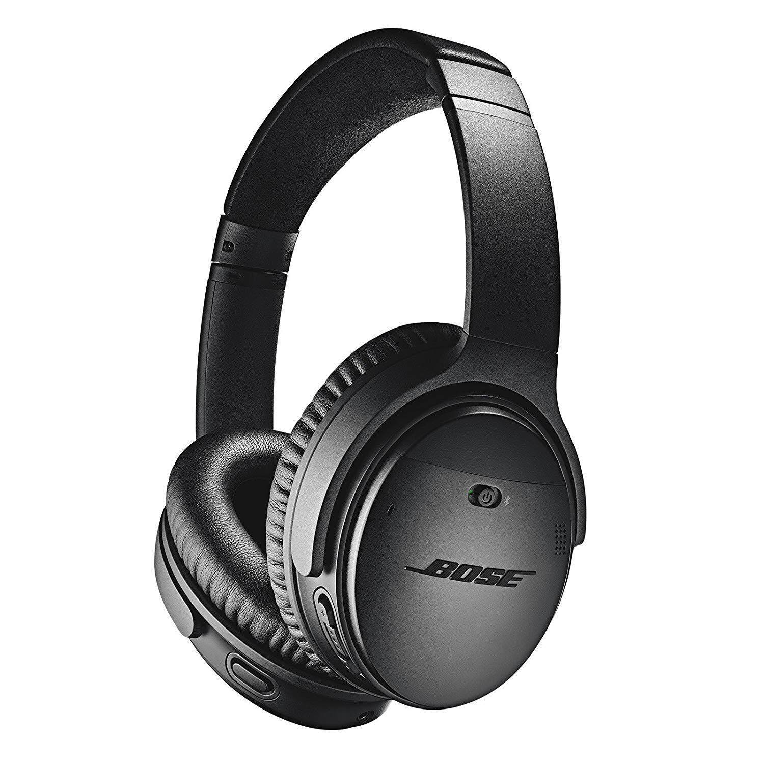 ยี่ห้อนี้ดีไหม  แพร่ Bose QuietComfort 35 Wireless Noise Cancelling Headphones (Black)