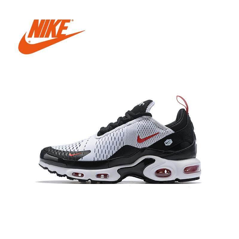 wholesale dealer 78ec1 809fc New Original Nike Air Max 270 Tn Plus Men Air cushion running shoes  Breathable sneakers White black Hot