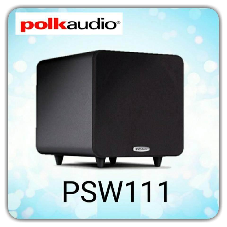 ยโสธร Polk Audio ลำโพง SUBWOOFERS รุ่น PSW111 รับประกัน 5ปี ศูนย์ POWER  BUY