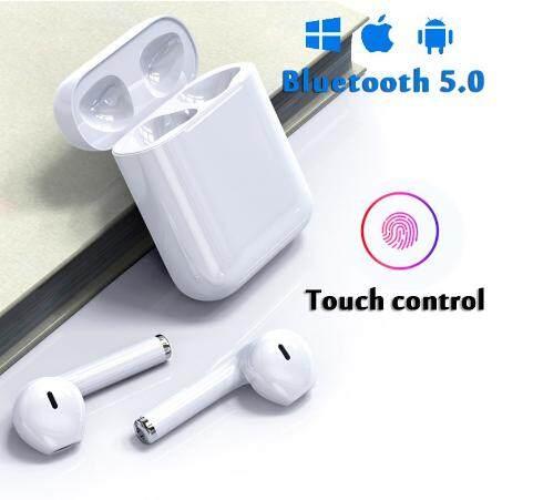 i11 airpods TWS True Bluetooth 5.0 Earphones super bass Wireless Earbud for IOS ear pod Xiaomi i11 หูฟัง Airpods TWS พร้อมกล่องชาร์จ หูฟังบลูทูธไร้สาย Bluetooth V5.0 หูฟังไร้สาย IOS Android