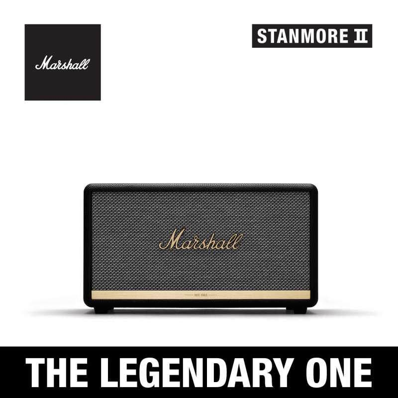 การใช้งาน  ลำโพงบลูทูธ Marshall Stanmore II Black - Marshall Stanmore II bluetooth speaker Black