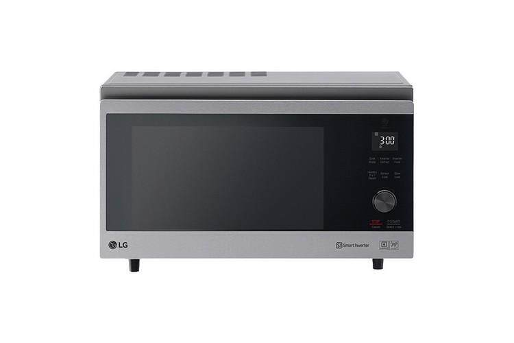 รุ่นใหม่ล่าสุด อุ่นอาหารร้อนเร็ว ประหยัดไฟ ฟังก์ชันพร้อม ใช้งานสะดวก Microwave ไมโครเวฟ ดิจิตอล LG MJ3965ACS.BSSPETH 39L LG MJ3965ACS.BSSPETH